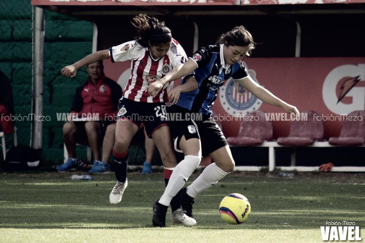 Chivas Femenil alcanza el liderato momentáneo al vencer a Querétaro