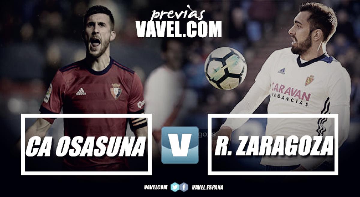 Previa Osasuna - Zaragoza: eterna rivalidad y tres puntos en juego entre el sexto y séptimo