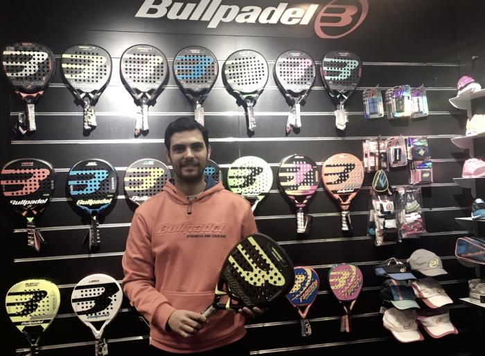 Antonio Luque seguirá como jugador Bullpadel en 2017