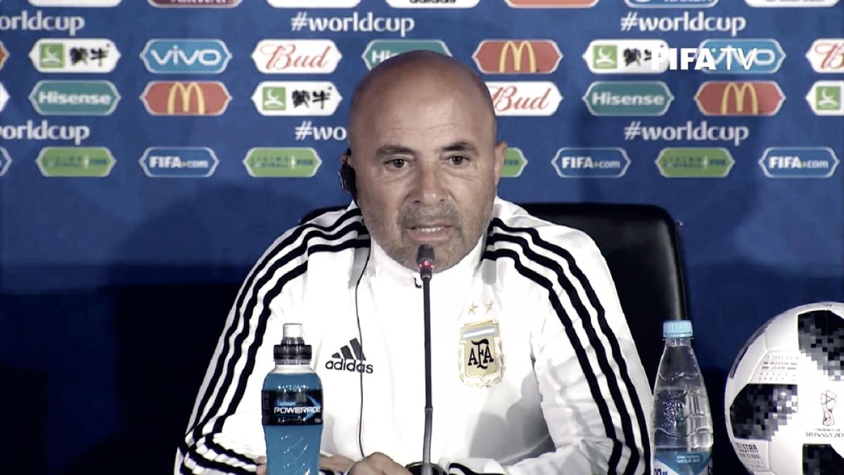 """Sampaoli: """"Islandia va a ser un equipo muy duro para entrarle, mete mucha gente en defensa"""""""