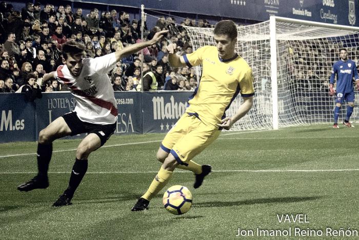 Álvaro Peña: ''Tenemos que incidir en esos últimos metros que nos faltan para terminar los partidos''