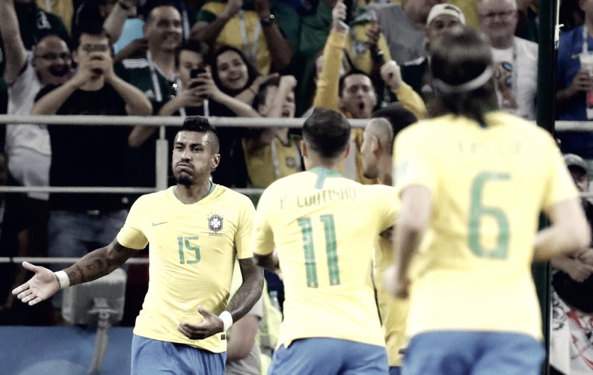 Brasil ganó y clasificó primero