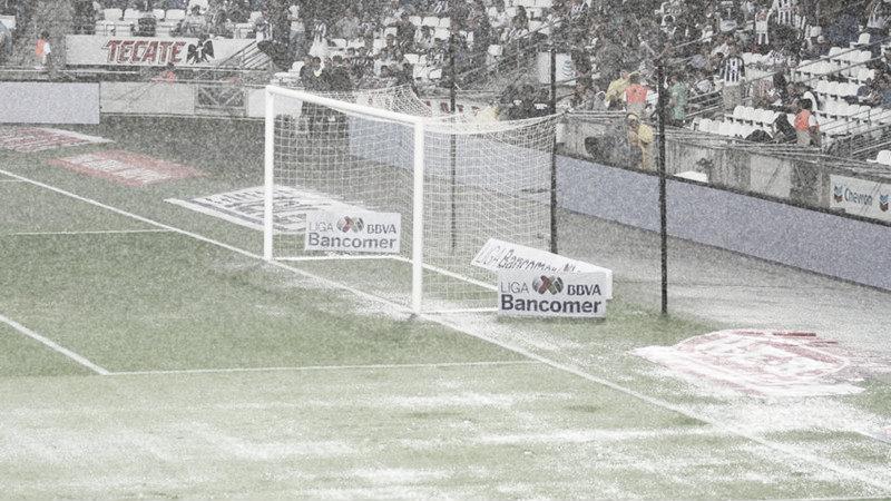 Quedó suspendido el Rayados vs Zacatepec de Copa MX