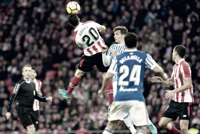 Athletic Club - Real Sociedad: puntuaciones del Athletic Club, jornada 16 de La Liga