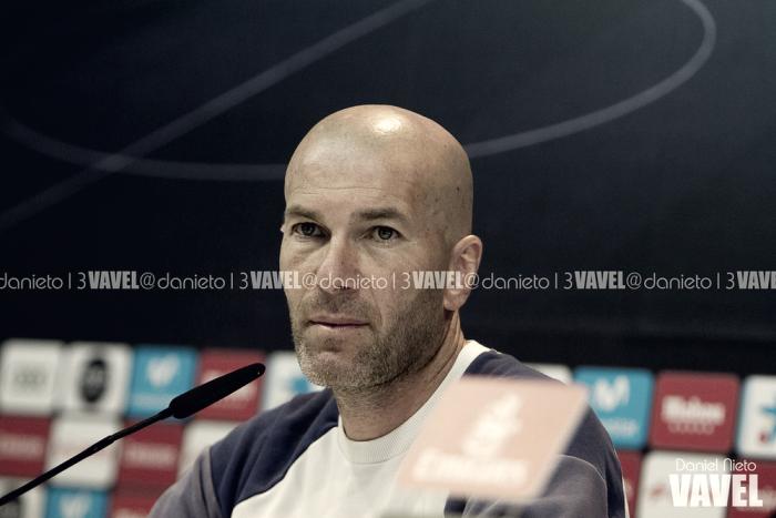 """Zidane: """"Vamos a dar el máximo para ganar el partido"""""""