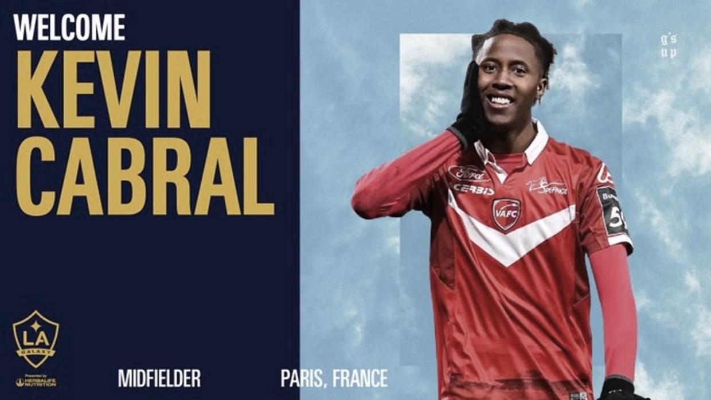 Kévin Cabral ficha por LA Galaxy como Jugador Franquicia