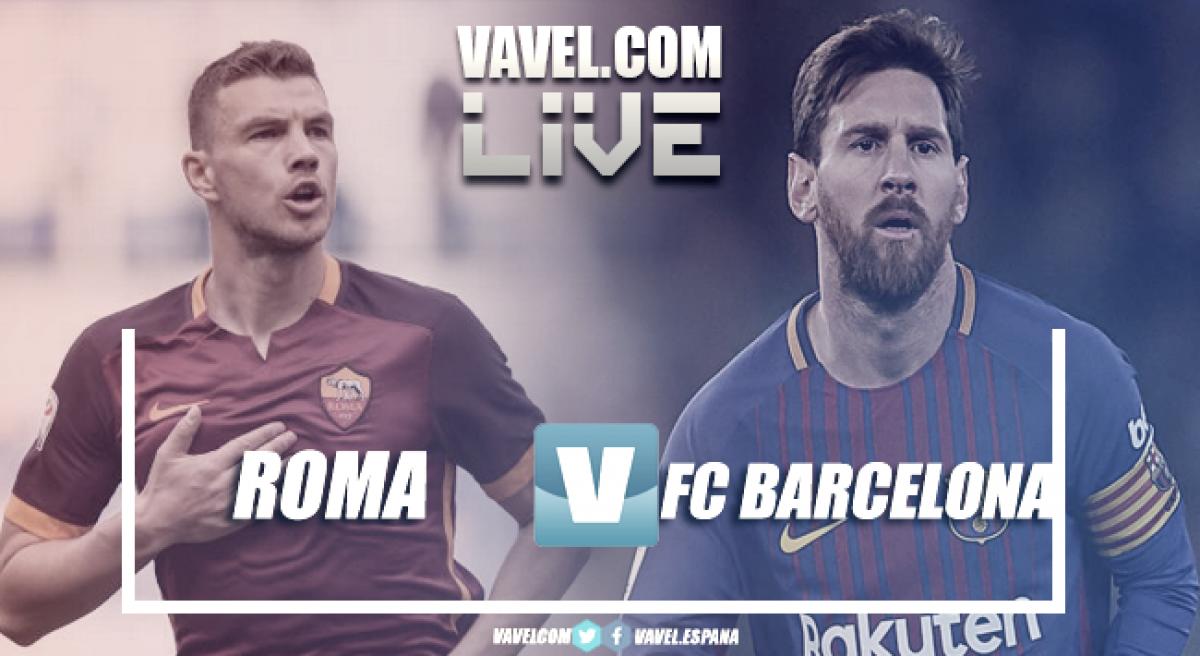 Terminata Roma - Barcellona, LIVE Champions League 2017/18 (3-0): Epica rimonta dei giallorossi, è semifinale!