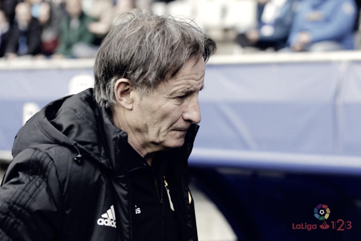 """Juan Antonio Anquela: """"Hemos jugado un buen partido pero también hemos tenido fortuna"""""""