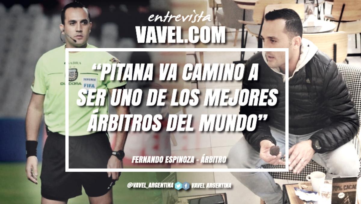 """Entrevista. Fernando Espinoza: """"El VAR llegó para quedarse entre nosotros"""""""