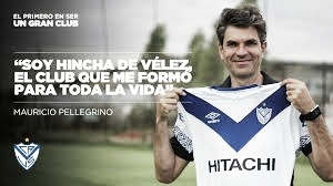 Mauricio Pellegrino ( Vélez Sarsfiled Oficial)