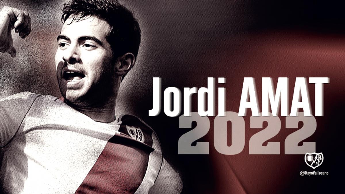 Jordi Amat vuelve al Rayo