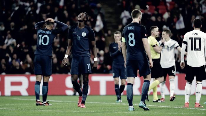 Resumen Inglaterra 0-0 Brasil en 2017