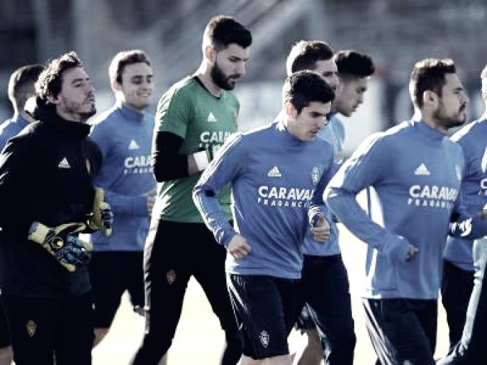 Planning del Real Zaragoza de cara a la semana