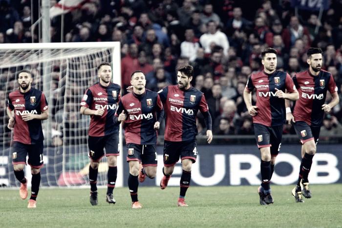 El Genoa ya está en octavos de 'Coppa', les espera la Juve