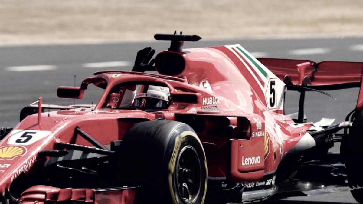 """Vettel: """"Ha sido un gran día"""""""