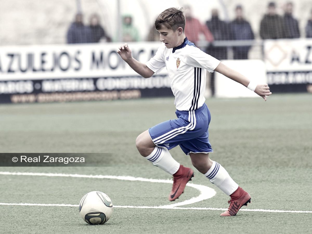 Pleno de victorias en las categorías inferiores del Real Zaragoza