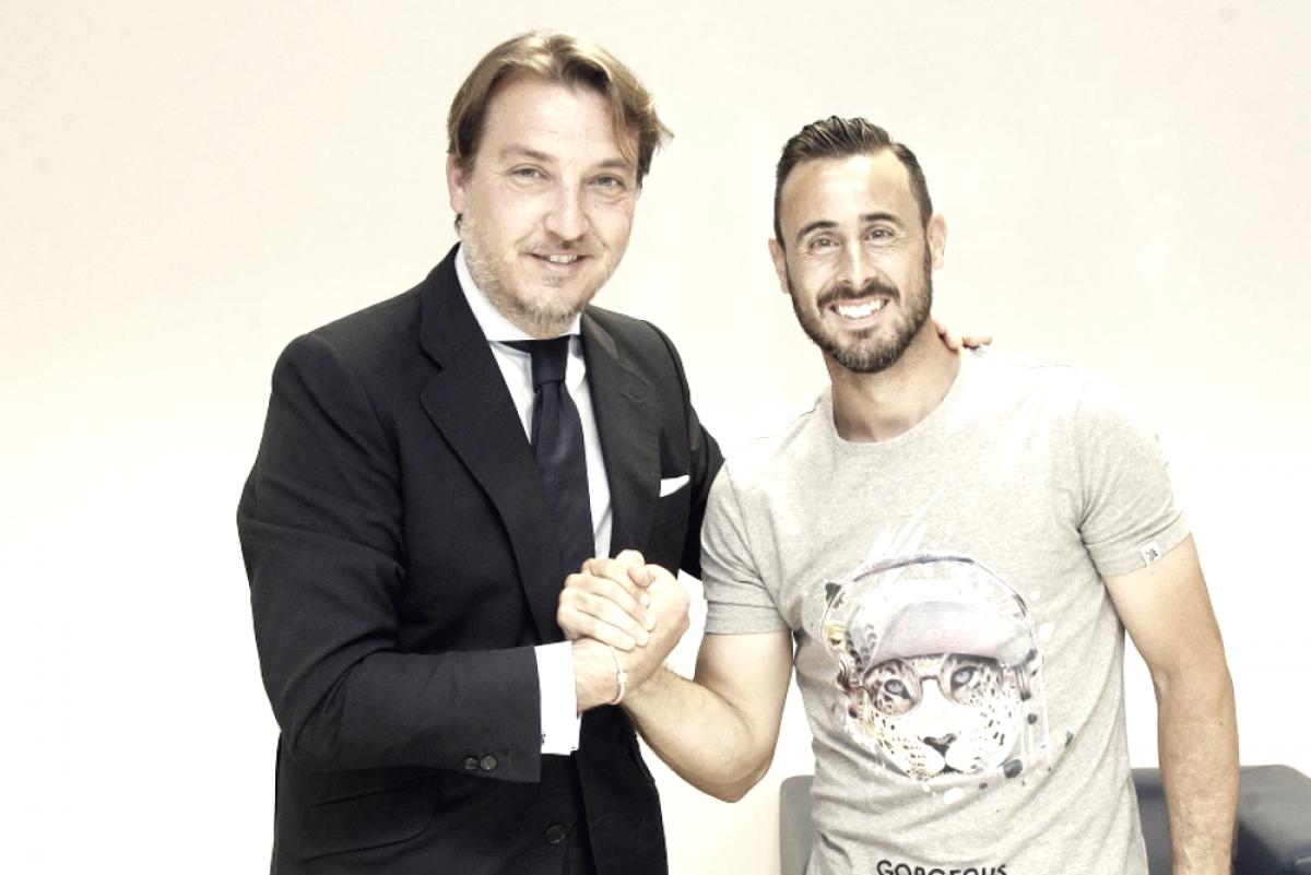 """Pedro López: """"Es un honor y un orgullo poder vestir esta camiseta un año más"""""""