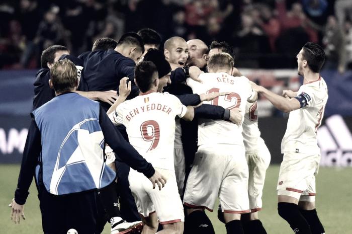 El Sevilla se disfrazó de Liverpool