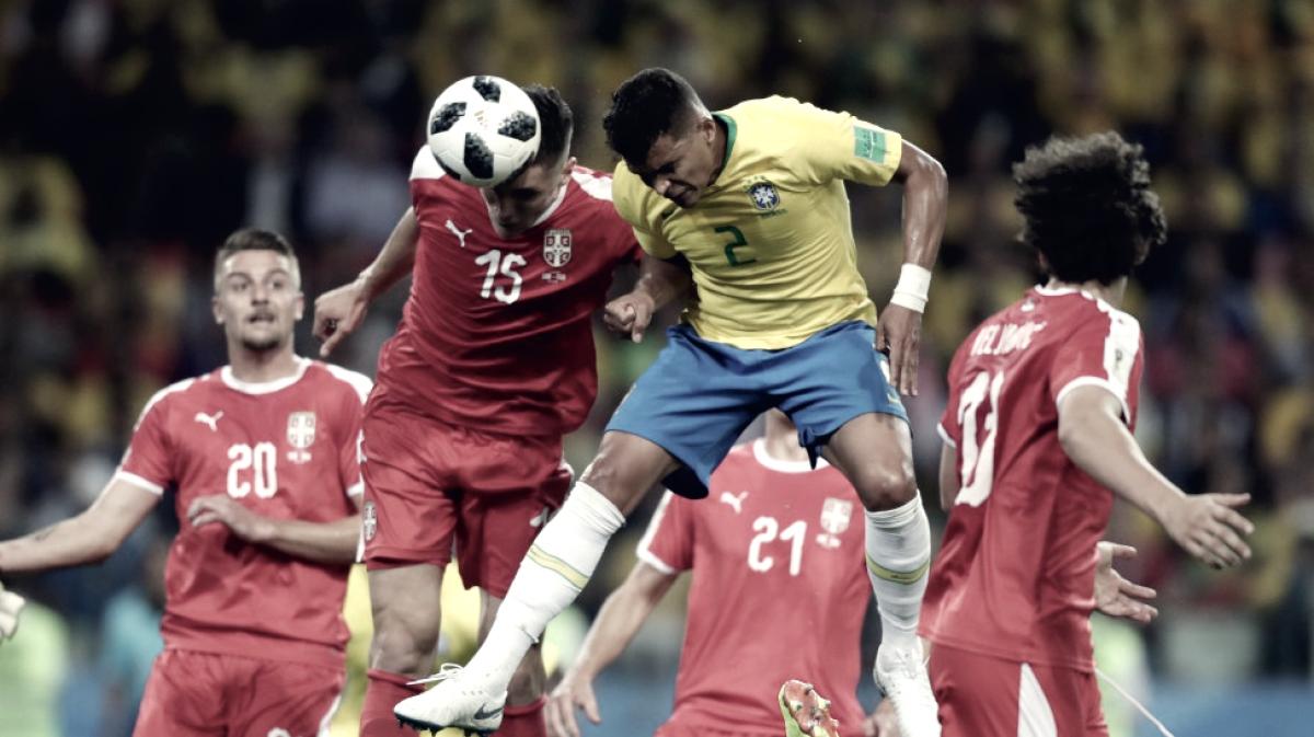 Puntuaciones del Serbia - Brasil: un suficiente para un encuentro poco vistoso