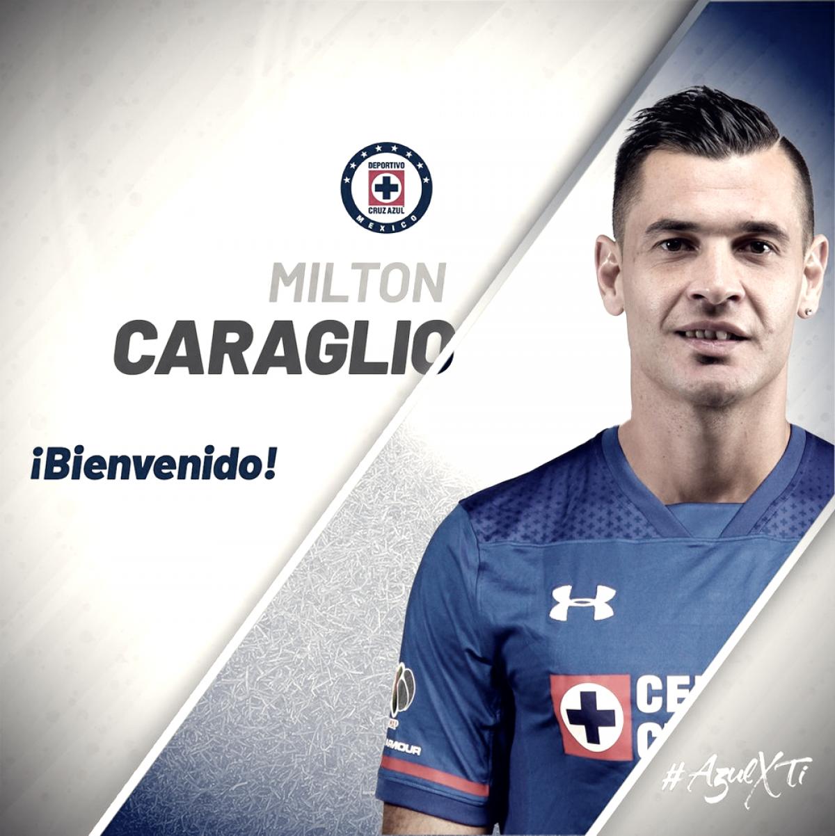 Milton Caraglio es nuevo delantero del Cruz Azul