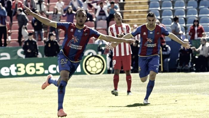 Valdo marcó el gol más rápido del Levante en Primera División
