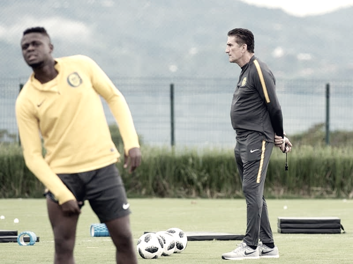 """Edgardo Bauza: """"Hay jugadores con capacidad paradesequilibrar"""""""