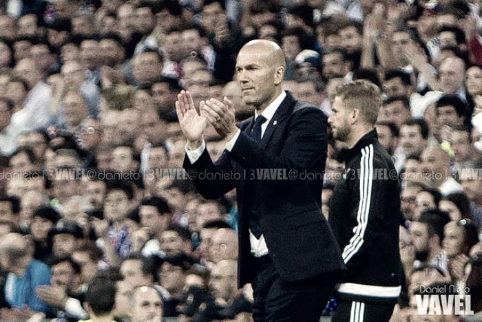 """Zidane: """"Queremos seguir con esta buena racha"""""""