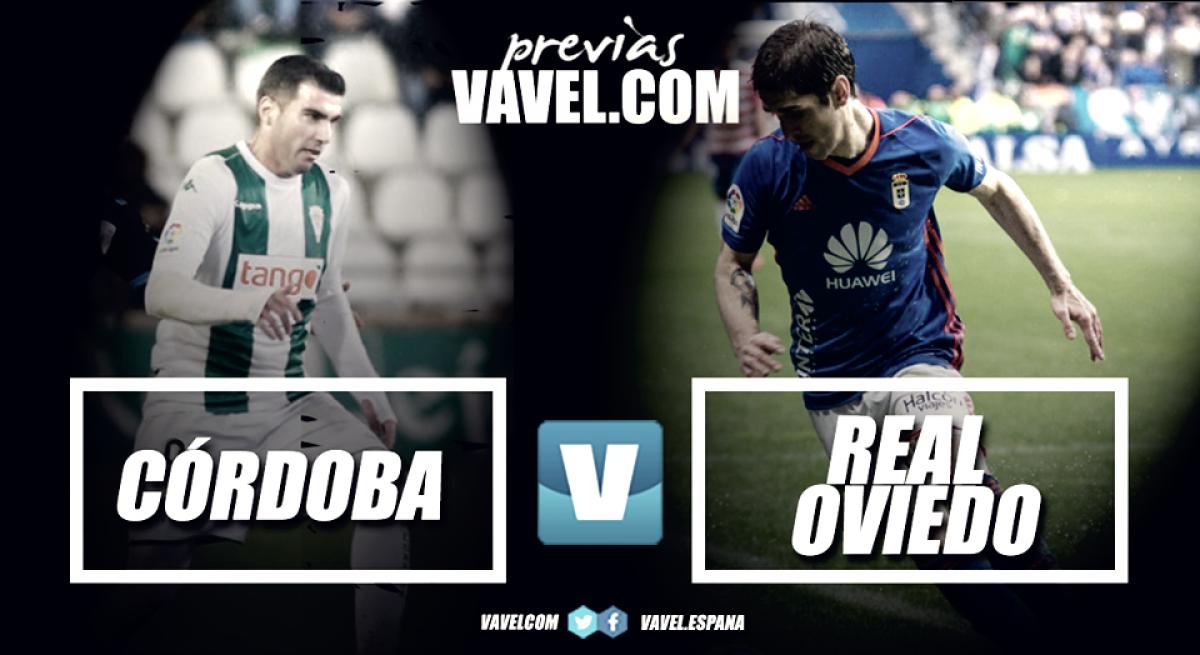Previa Córdoba C.F. - Real Oviedo: con los pies en el suelo