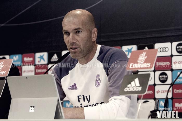 """Zidane: """"Contentos por el partido, pero no por lo de Ramos"""""""