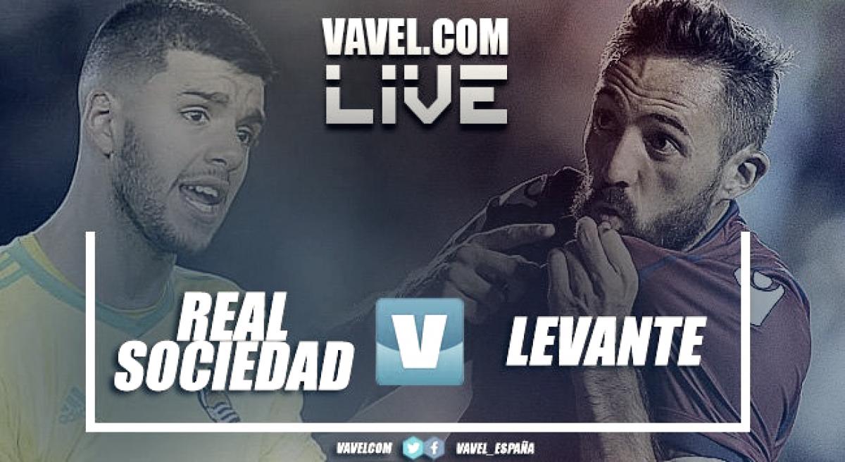 Real Sociedad vs Levante en vivo y en directo online en La Liga 2018