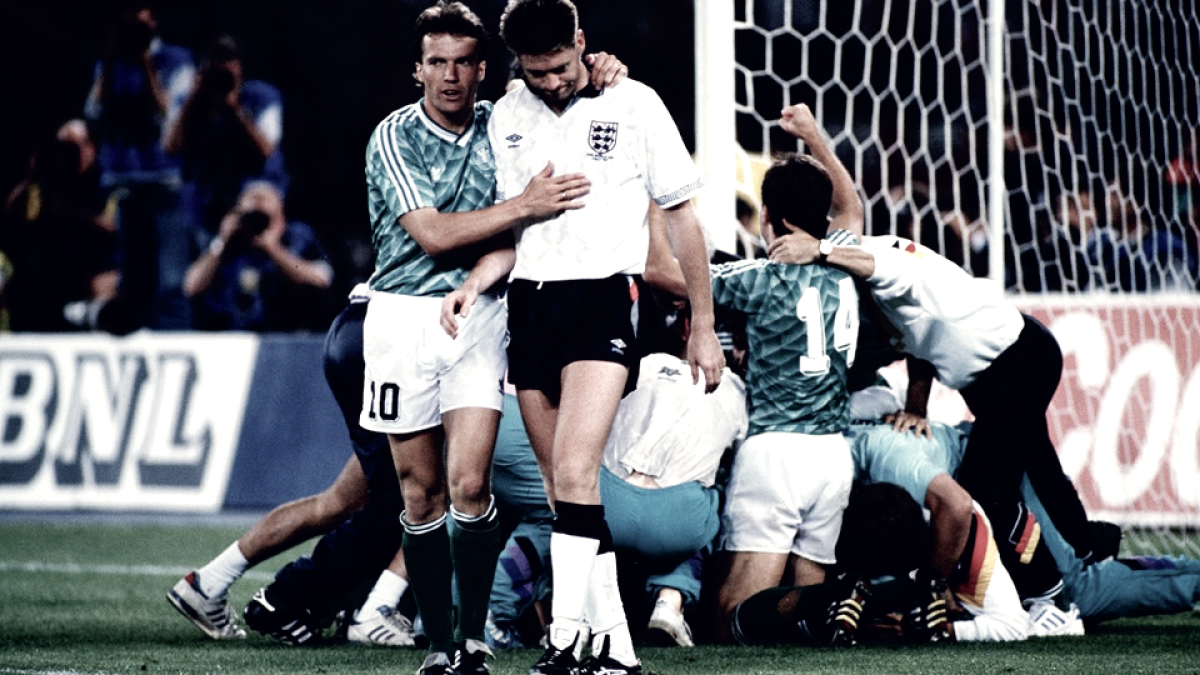 Partidazo, Mundial Italia 1990: Inglaterra 1-1 Alemania Occidental (3-5 penaltis)