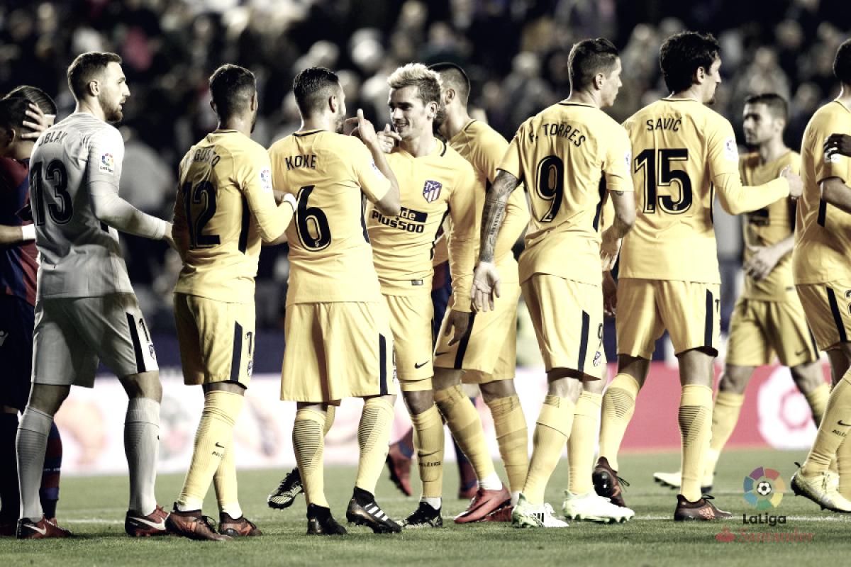 Análisis del rival: Atlético de Madrid, con un ojo en la liga y otro en Londres
