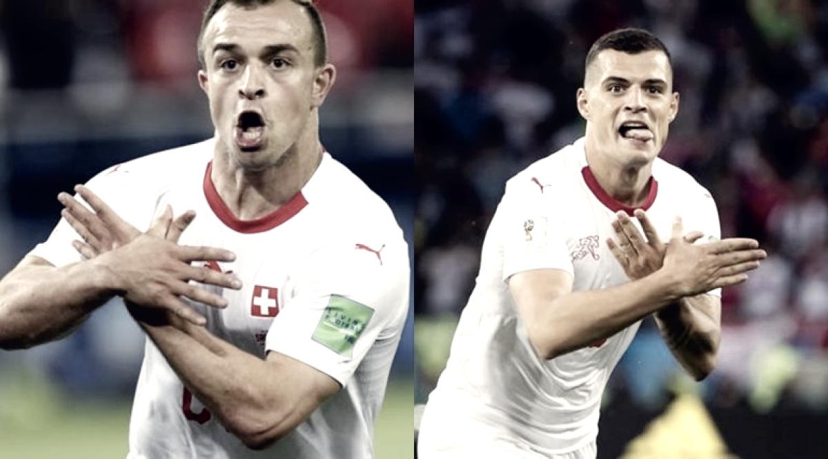 Dos jugadores suizos multados