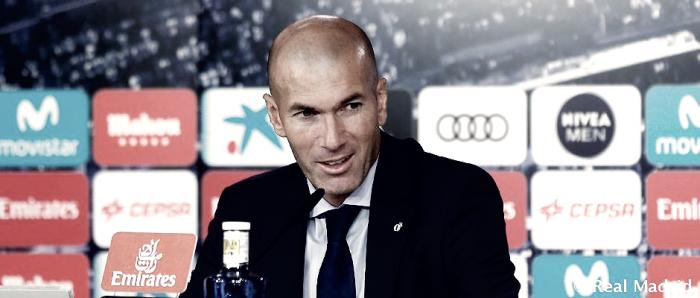 Zidane: ''Hoy hemos tenido enfrente a un equipo organizado que nos ha puesto el partido difícil''