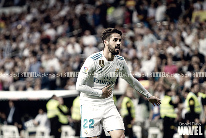 Un monumental Isco resucita al Madrid en el Bernabéu