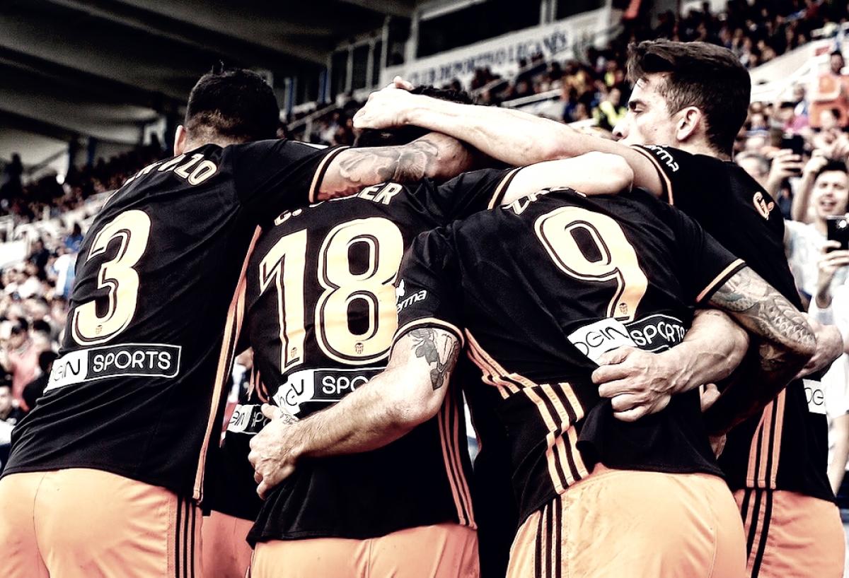 El Valencia CF busca su quinta victoria consecutiva