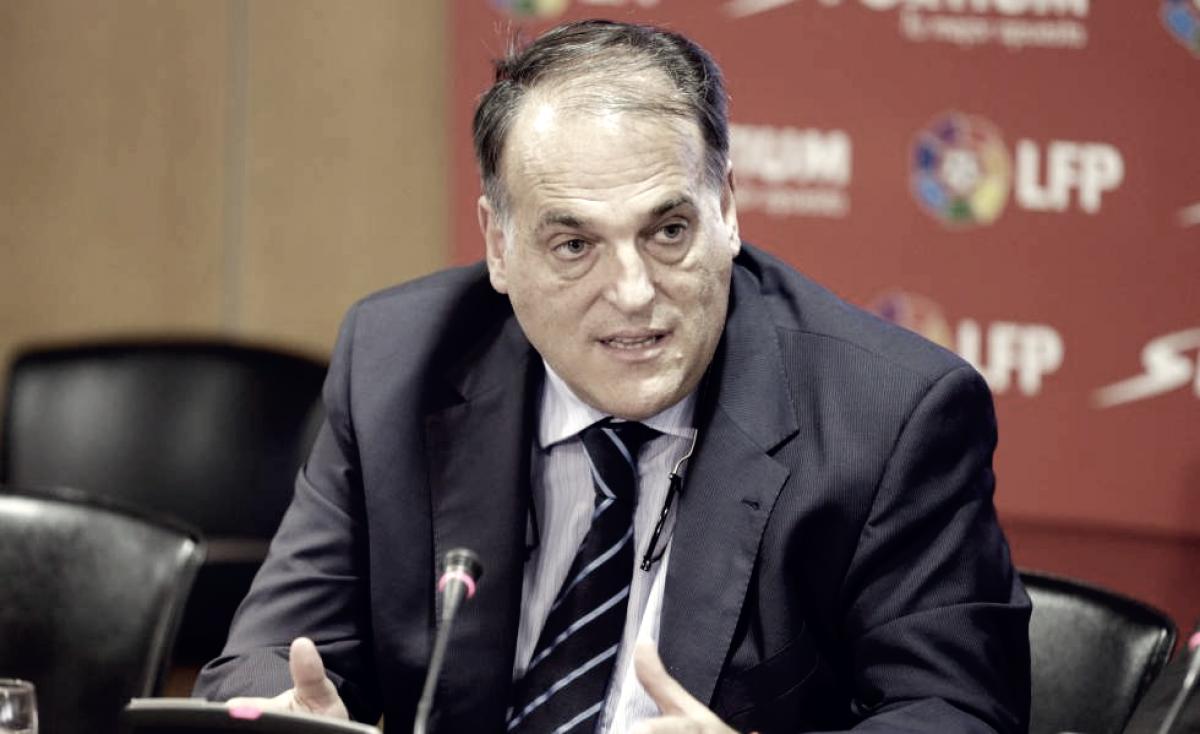 Javier Tebas actuó de mediador entre Lorenzo Sanz y el Rayo Vallecano