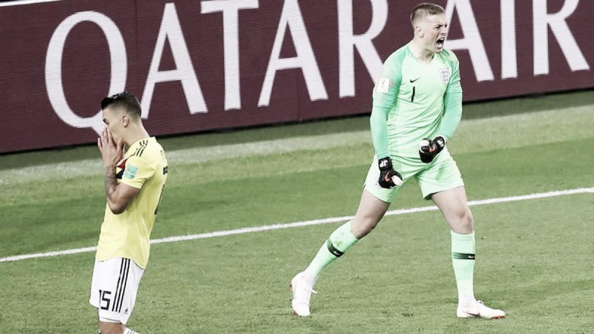 Una mina de emociones; Inglaterra elimina a Colombia