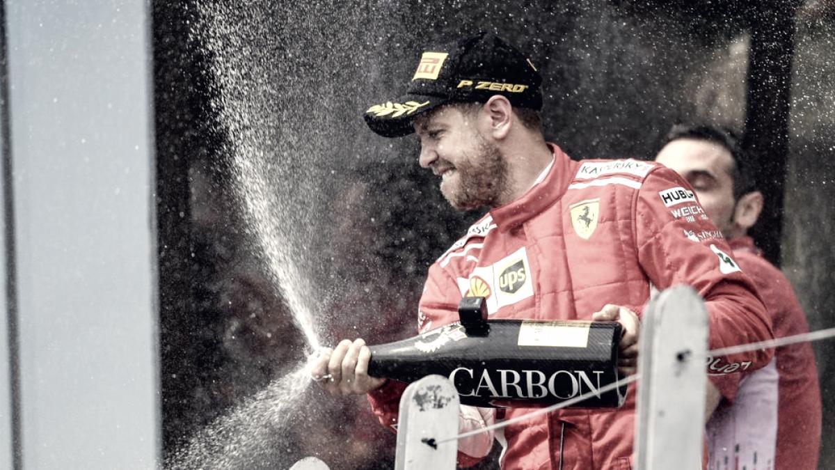 """Vettel: """"Ha sido una carrera perfecta"""""""