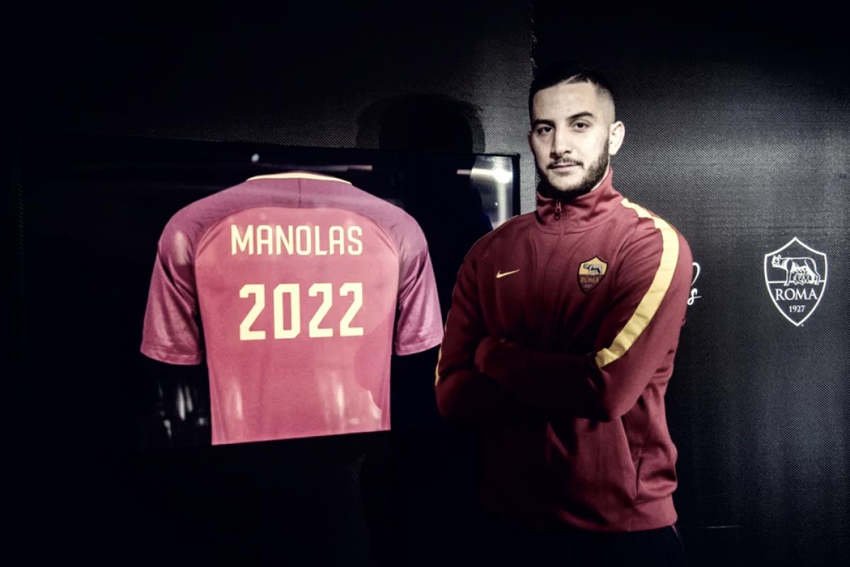 Kostas Manolas confía en estar en lo más alto de la Serie A
