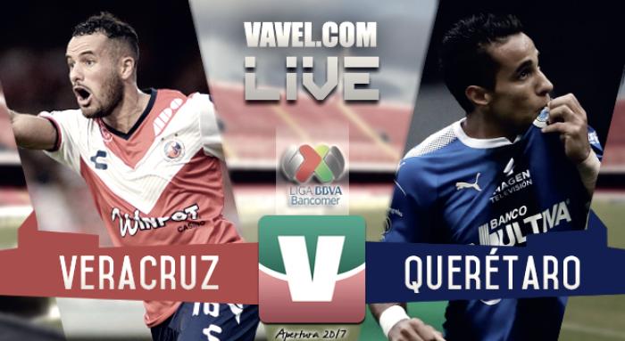 Resultado y goles del Veracruz 1-1 Querétaro de la Liga MX 2017
