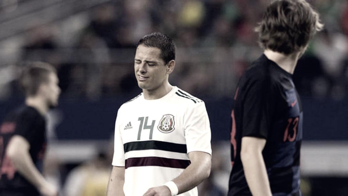 Puntuaciones México vs Croacia