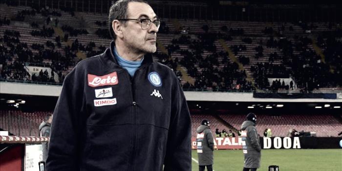 """Sarri: """"Comenzamos el partido genial, pero no sé explicar el bajón en la segunda mitad"""""""