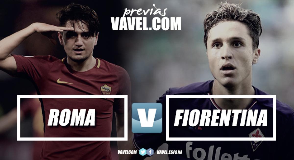 Serie A - Il caldo pomeriggio dell'Olimpico: la Roma per reagire, la Fiorentina per continuare a stupire