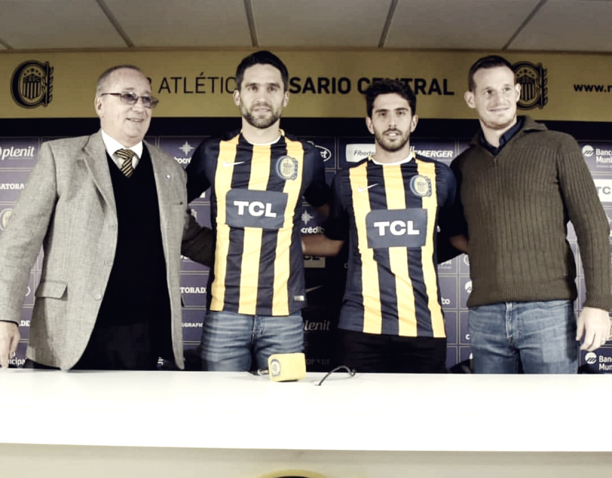Bettini y Caruzzo fueron presentados en conferencia de prensa