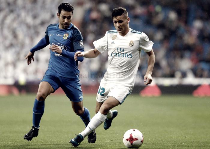 Óscar debuta con el Real Madrid