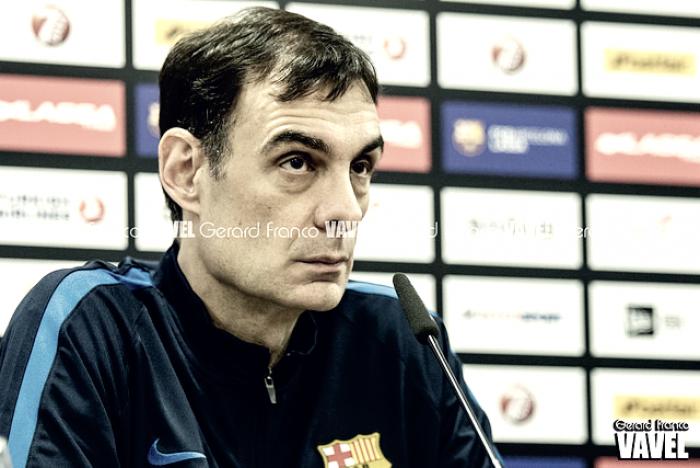 """Georgios Bartzokas: """"Hemos de estar al 100% para ganar"""""""