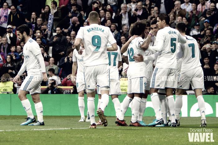 El Real Madrid suma 20 partidos consecutivos marcando en Champions