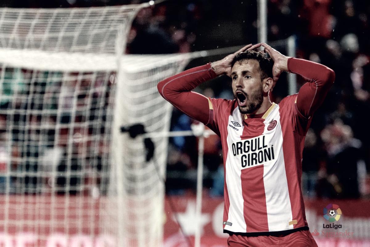 El Girona cae en fuera de juego
