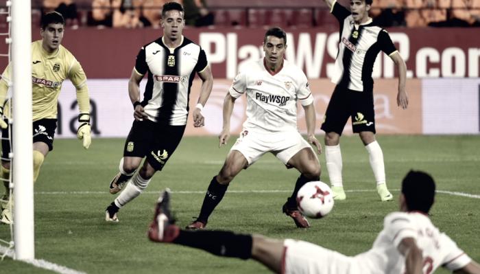 Sevilla - Cartagena: puntuaciones del Sevilla, vuelta de los 1/16 de Copa del Rey